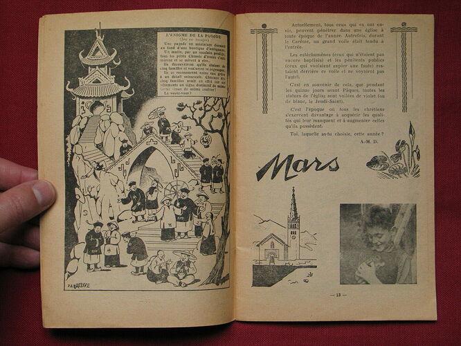 Almanach CV-AV 1947 - Au rythme des saisons et des joies (3)