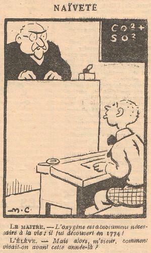 Le Pêle-Mêle 1929 - n°283 - Naïveté - 21 juillet 1929 - page 11