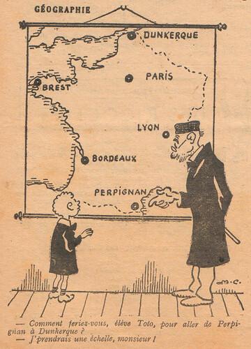 Le Pêle-Mêle 1927 - n°157 - page 7 - Géographie - 20 février 1927