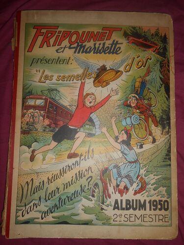 Reliure Fripounet et Marisette 1950 - 2ème semestre