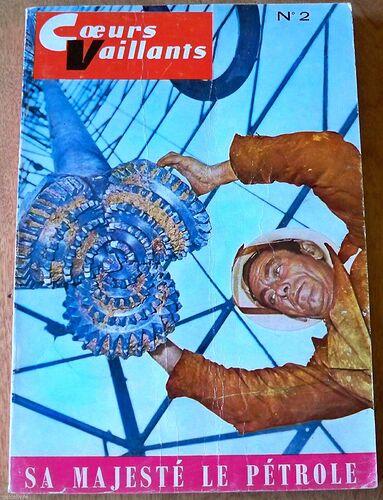 Reliure Coeurs Vaillants 1961 - n°2 - du n°38 au n°48