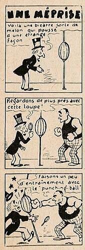 Pat épate 1949 - n°35 - page 14 - Une méprise - 28 août 1949