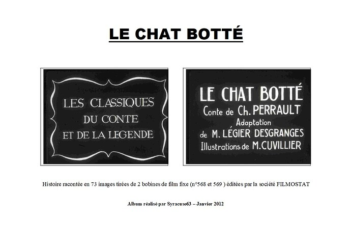 Le Chat Botté - page 1
