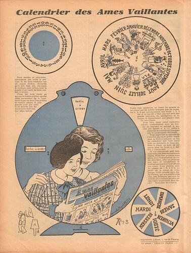 Ames Vaillantes 1938 - n°1 - 6 janvier 1938 - page 8