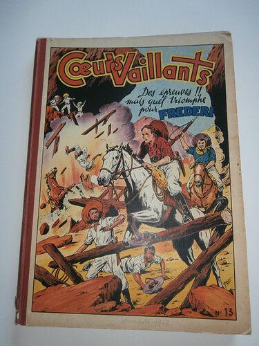 Reliure Coeurs Vaillants 1953 - n°13 - du n°1 au n°17