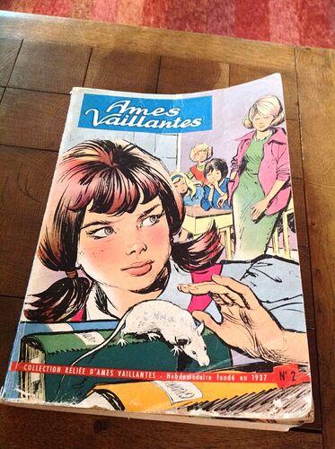 Reliure Ames Vaillantes 1961 - n°2 - du n°38 au n°48