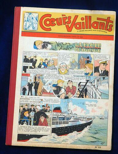 Reliure Coeurs Vaillants 1956 - n°23 - du n°18 au n°29