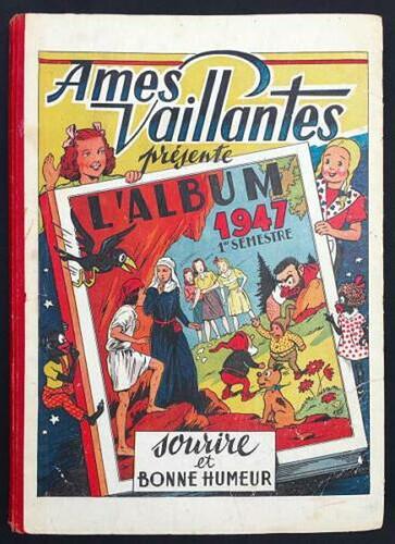 Reliure Ames Vaillantes 1947 - 1er semestre