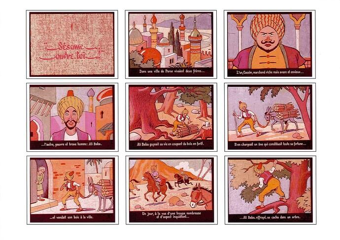 Ali Baba par Cuvillier (2)