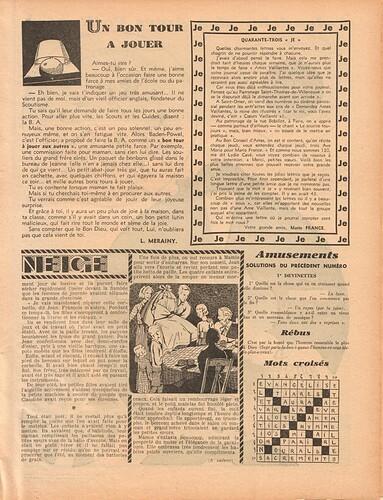 Ames Vaillantes 1938 - n°1 - 6 janvier 1938 - page 7