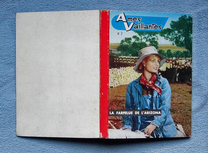 Reliure Ames Vaillantes 1962 - n°7 - du n°41 au n°52