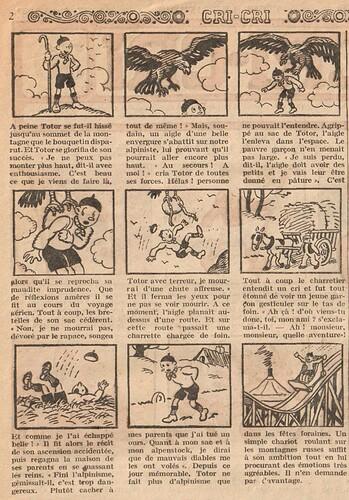 Cri-Cri 1932 - n°706 - TOTOR alpiniste - 7 avril 1932 - page 2