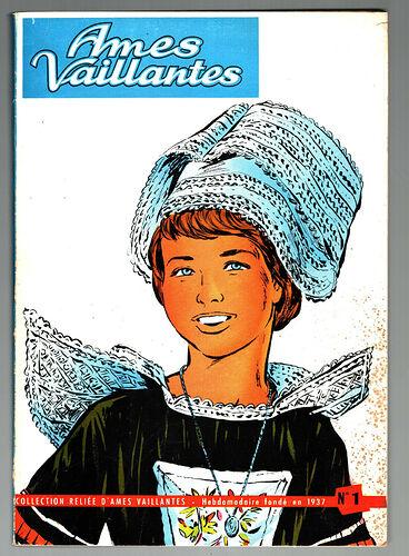 Reliure Ames Vaillantes 1961 - n°1 - du n°27 au n°37 (bis)