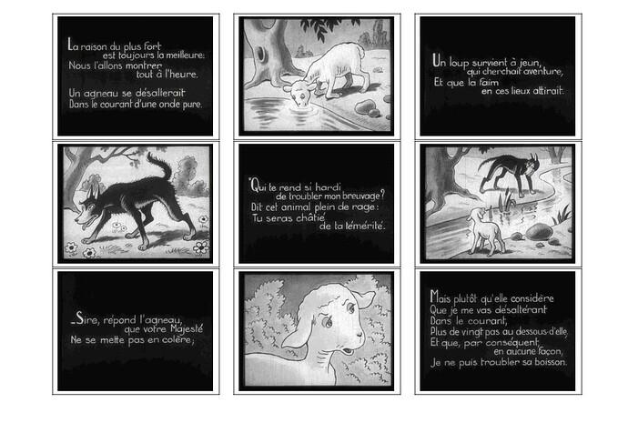 Le Loup et l'Agneau - page 2