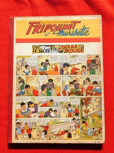 Reliure Fripounet et Marisette 1957 - n°22 - du n°1 au n°17