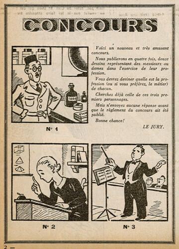 Ames Vaillantes 1938 - n°45 - page 2 - Concours - 17 novembre 1938