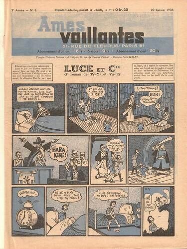 Ames Vaillantes 1938 - n°3 - 20 janvier 1938 - page 1