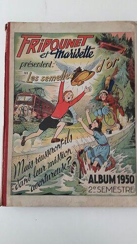 Reliure Fripounet et Marisette 1950 - 2ème semestre (bis)