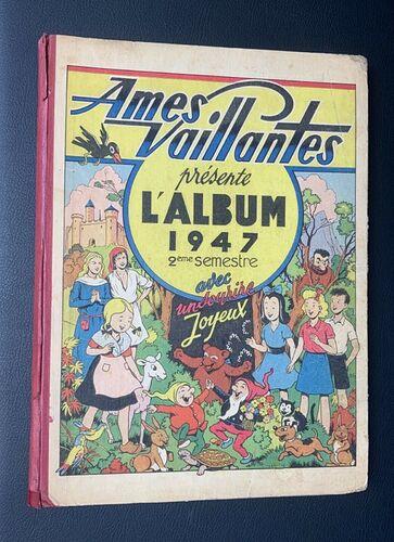 Reliure Ames Vaillantes 1947 - 2ème semestre (ter)
