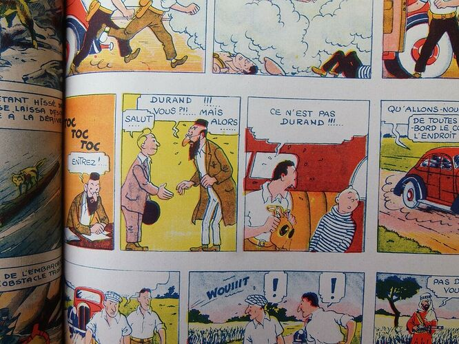 Reliure Coeurs Vaillants 1940 - 1er semestre (6)