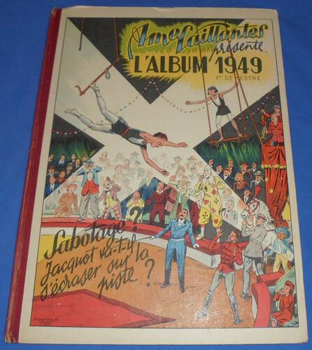 Reliure Ames Vaillantes 1949 - 1er semestre (1 à 26) bis (2)