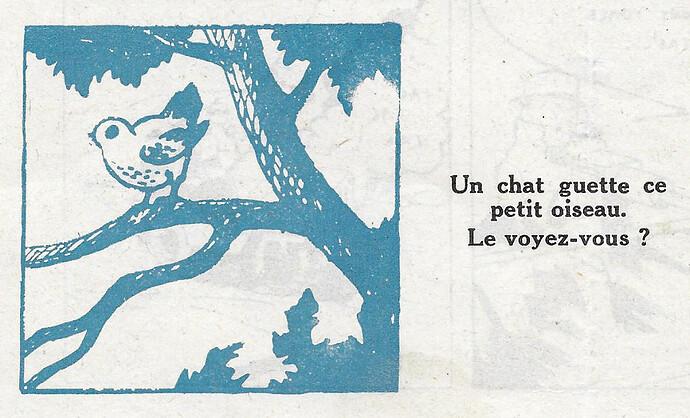 Pat épate 1948 - n°51 - Chat à trouver - 19 décembre 1948 - page 12