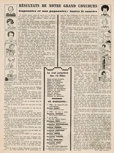 Ames Vaillantes 1938 - n°5 - page 4 - Résultays de notre grand concours - 3 février 1938