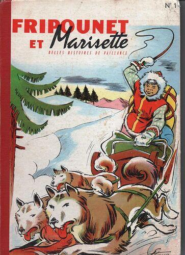 Reliure Fripounet et Marisette 1957-1958  - n°1 - du n°43 au n°52 et du n°1 au n°5