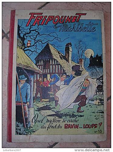 Reliure Fripounet et Marisette 1953 - n°13 - du n°1 au n°26