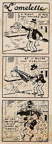 Pat épate 1949 - n°22 - page 22 - L'omelette -  29 mai 1949