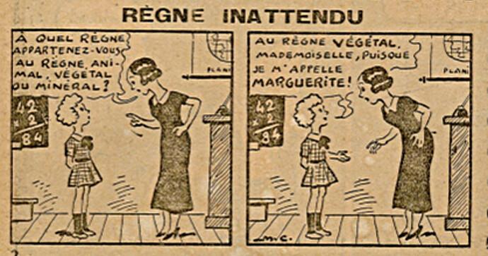 Ames Vaillantes 1938 - n°24 - page 2 - Règne inattendu - 16 juin 1938