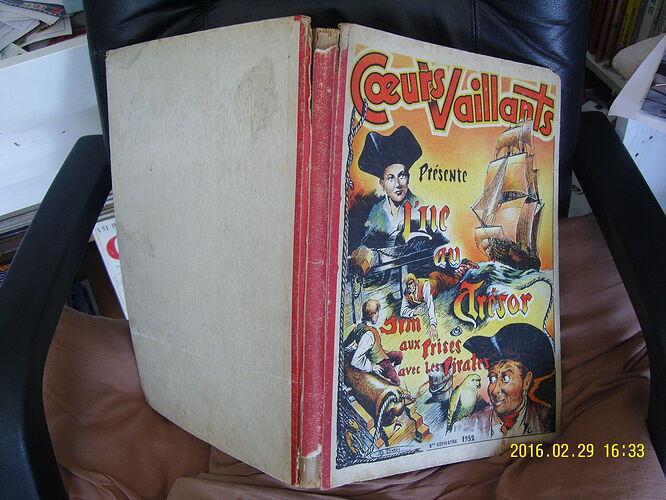 Reliure Coeurs Vaillants 1952 - 1e semestre