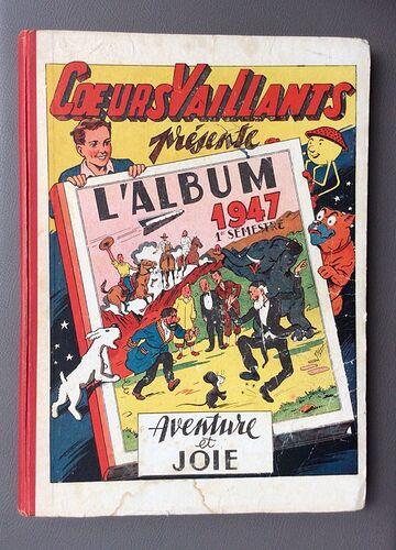 Reliure Coeurs Vaillants 1947 - 1er semestre (1 à 26)