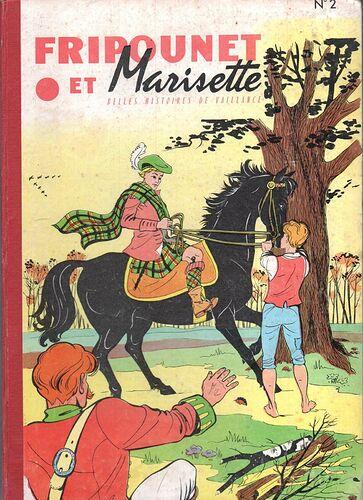 Reliure Fripounet et Marisette 1958  - n°2 - du n°6 au n°20