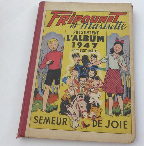 Reliure Fripounet et Marisette 1947 - 2e semestre