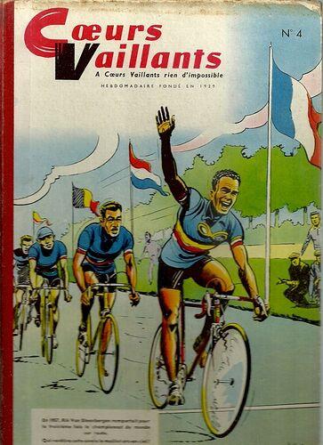 Reliure Coeurs Vaillants 1958 - n°4 - du n°27 au n°38