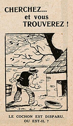 Pat épate 1949 - n°22 - page 6 - Cherchez... et vous trouverez ! - 29 mai 1949