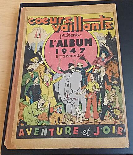 Reliure Coeurs Vaillants 1947 - 2e semestre (27 à 52) bis