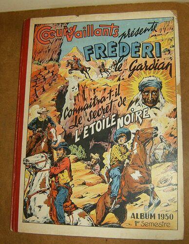 Reliure Coeurs Vaillants 1950 - 1e semestre (ter)