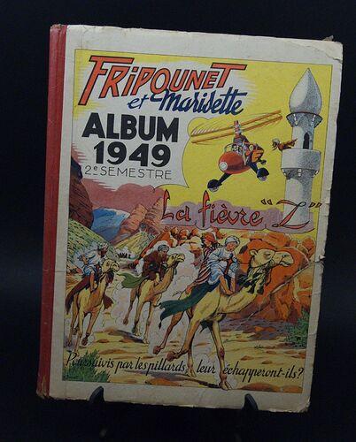 Reliure Fripounet et Marisette 1949 - 2ème semestre (bis)