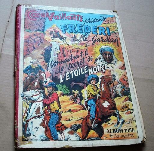 Album Coeurs Vaillants 1950 1951 1952 1953 (5)