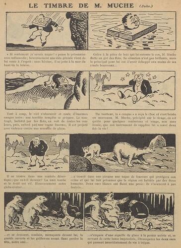 Guignol 1929 - n°112 - Le timbre de Mr. Muche - 6 janvier 1929 - page 6