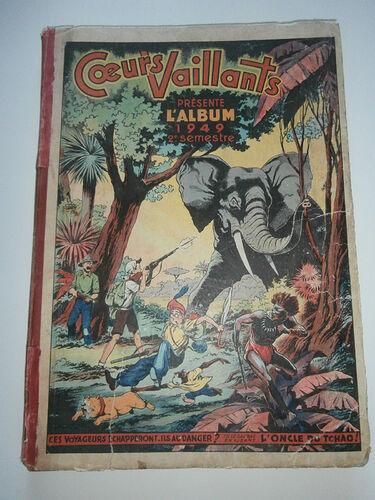 Reliure Coeurs Vaillants 1949 - 2e semestre (27 à 52)