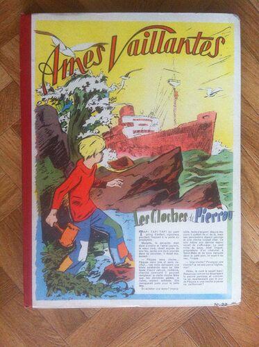 Reliure Ames Vaillantes 1956 - n°22 - du n°1 au n°17 (bis)