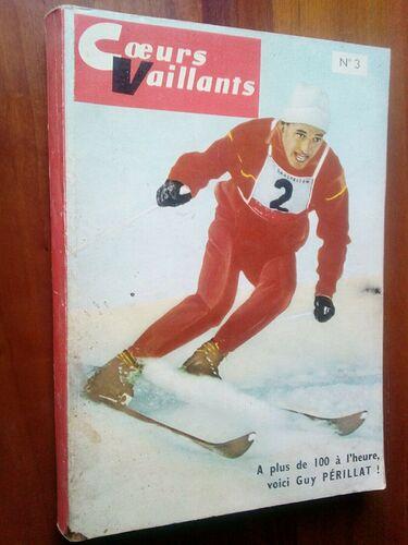 Reliure Coeurs Vaillants 1961 - n°3 - du n°49 de 1961 au n°7 de 1962