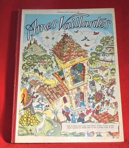 Reliure Ames Vaillantes 1957 - n°27 - du n°14 au n°26 (bis)