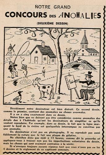Ames Vaillantes 1938 - n°20 - page 6 - Grand Concours des Anomalies (2) - 19 mai 1938