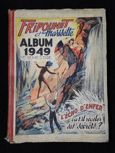Reliure Fripounet et Marisette 1949 - 1er semestre