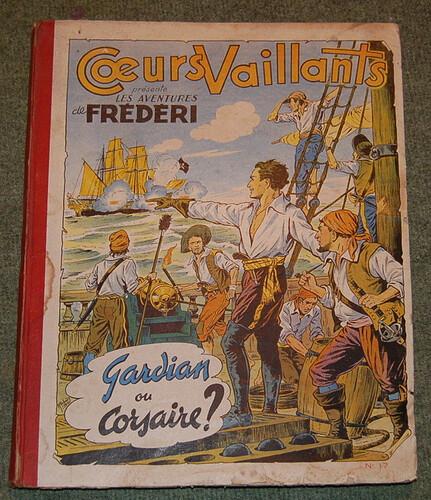 Reliure Coeurs Vaillants 1954 - n°17 - du n°18 au n°34 (bis)