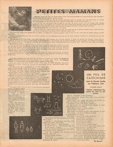 Ames Vaillantes 1938 - n°1 - 6 janvier 1938 - page 3
